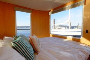 Best ocean view in Sidney aboard the SeaSuites