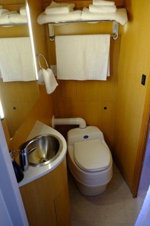 Separett toilet on SeaSuite