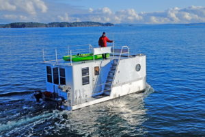 SeaSuite heading to Sidney Spit