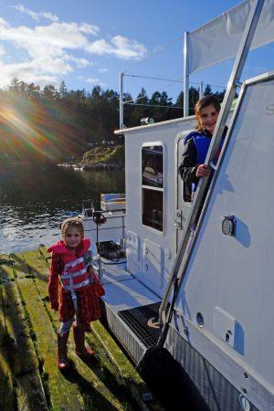 SeaSuites children having fun on the water