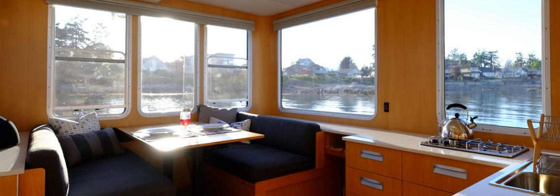 SeaSuite galley and dinette