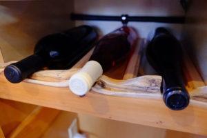 Custom wine rack on SeaSuites