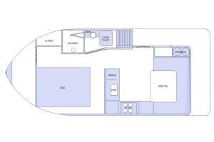 SeaSuites floor plan
